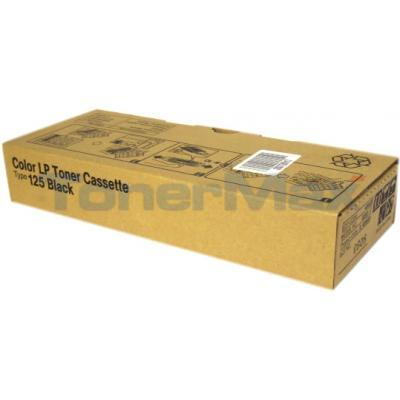 RICOH AFICIO CL-3000 TYPE 125 TONER CASSETTE BLACK